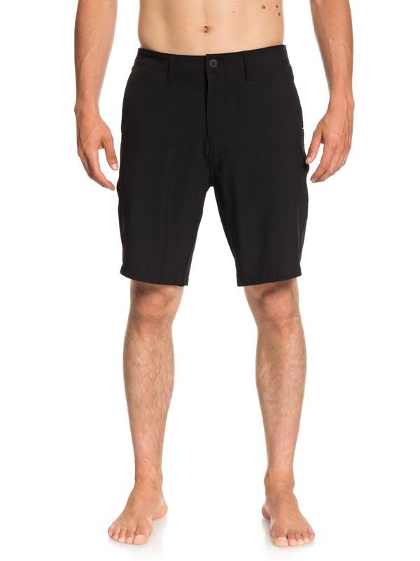 "0 Shorts Amphibian Union de 20"" Negro EQYWS03537 Quiksilver"
