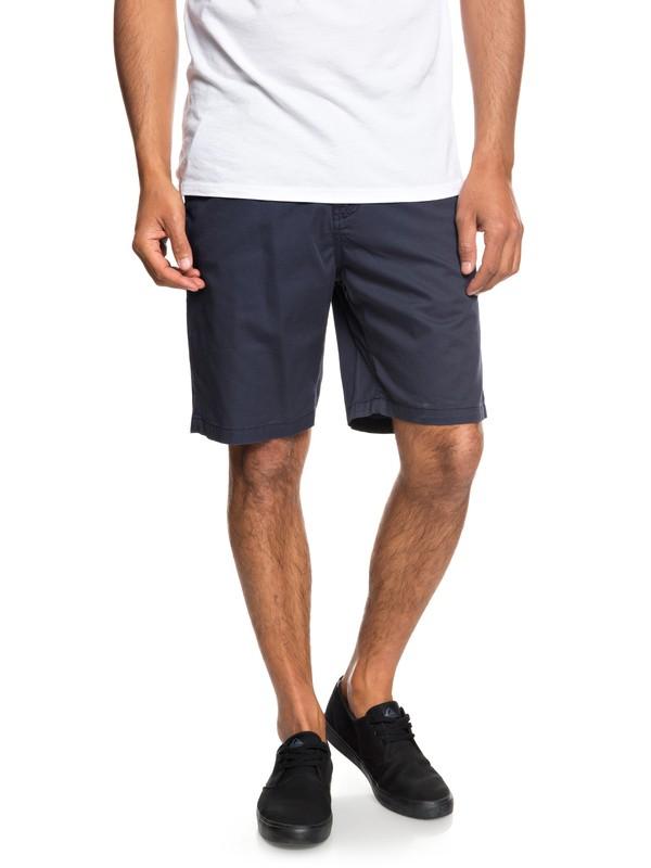 "0 Minor 20"" Chino Shorts Blue EQYWS03541 Quiksilver"