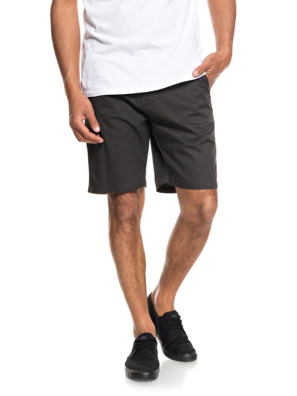 "0 Minor 20"" Chino Shorts Black EQYWS03541 Quiksilver"