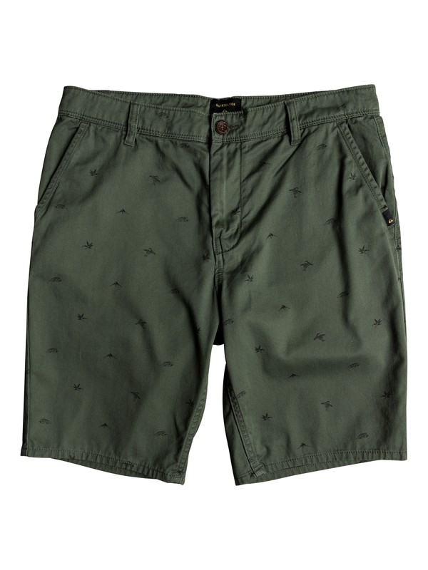 0 Men's Everyday Chino Shorts Brown EQYWS03542 Quiksilver