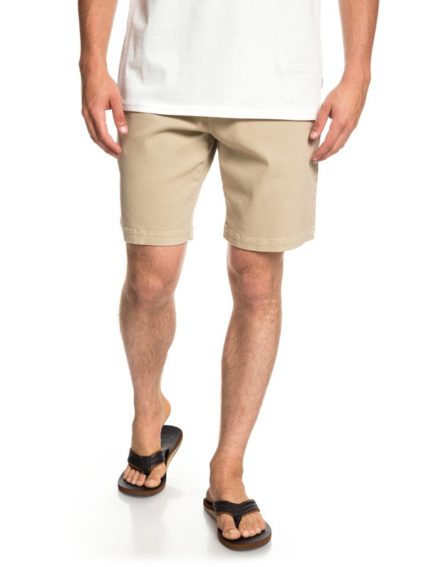 "0 Twist Of Shadows 19"" Shorts Brown EQYWS03567 Quiksilver"