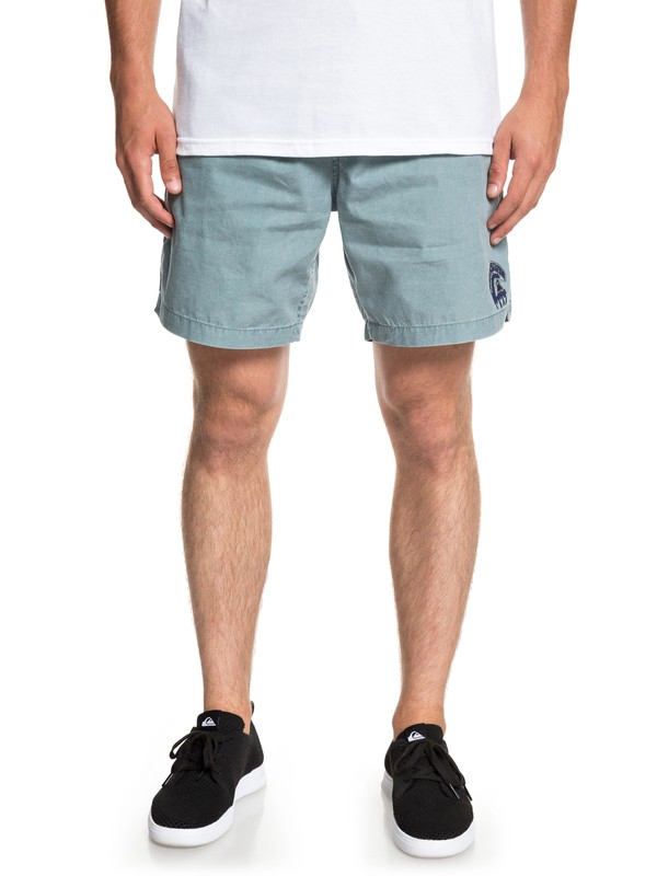 "0 Sees Of Tomorrow 17"" Beachshorts Blue EQYWS03568 Quiksilver"