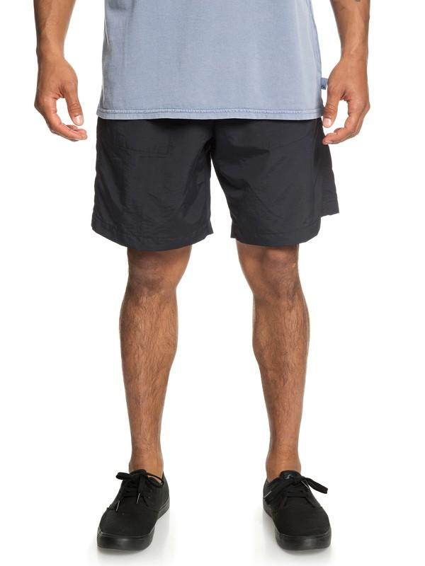 0 Originals Elasticized Shorts Black EQYWS03579 Quiksilver