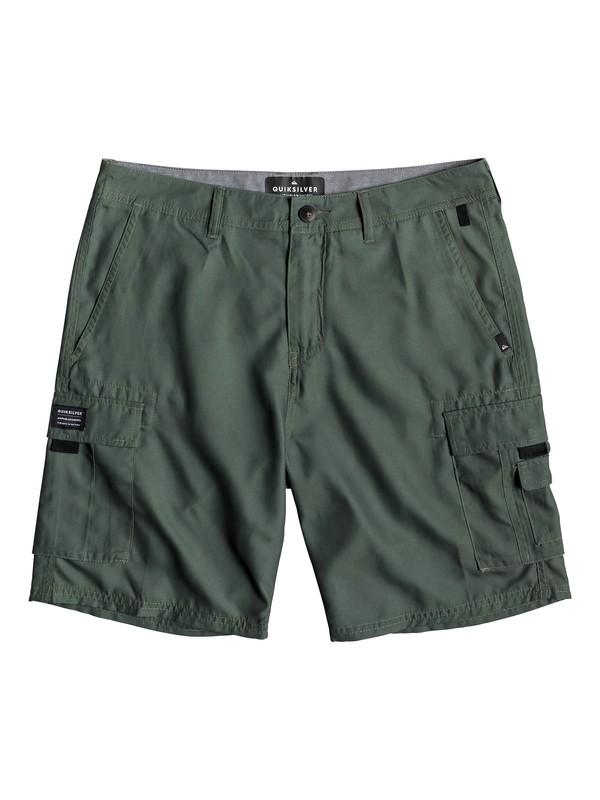 "0 Rogue Surfwash 20"" - Amphibian Board Shorts for Men Brown EQYWS03589 Quiksilver"