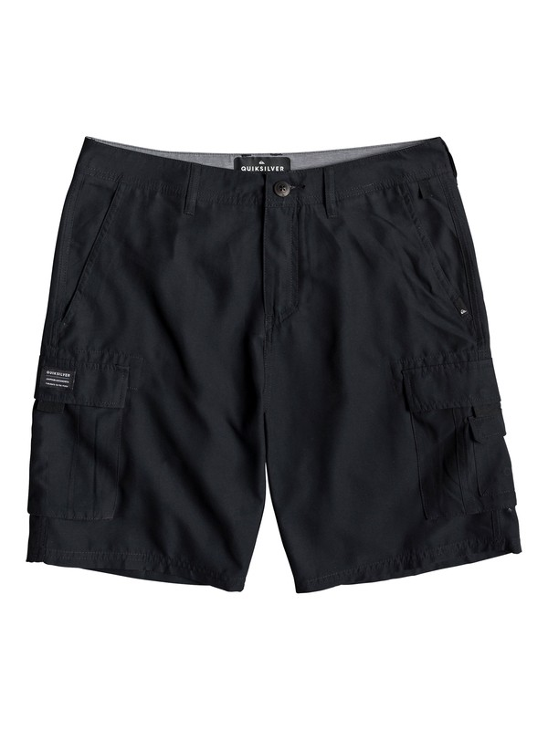 "0 Rogue Surfwash 20"" - Amphibian Board Shorts for Men Black EQYWS03589 Quiksilver"