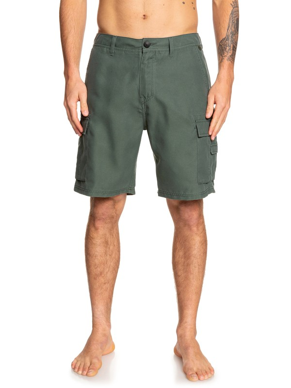 "0 Rogue Surfwash 20"" - Amphibian Board Shorts for Men Brown EQYWS03589 Quiksilver"