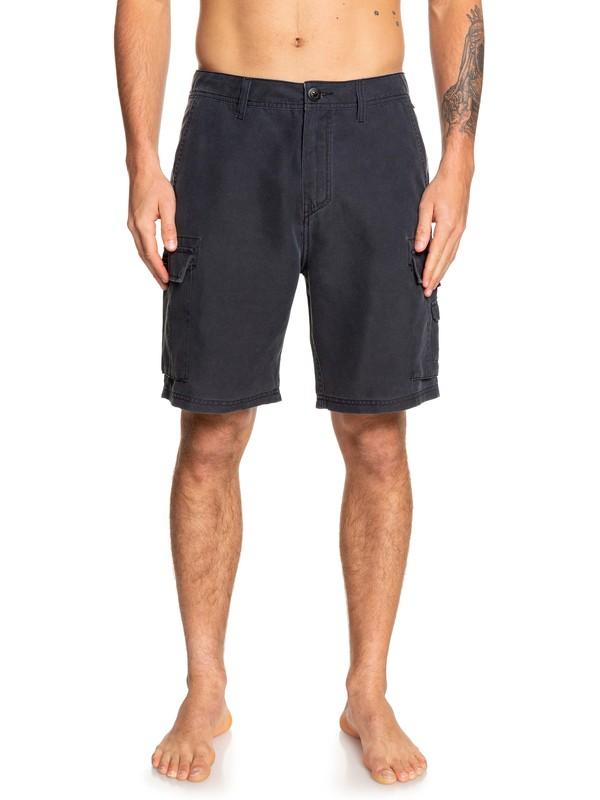 "0 Rogue Surfwash 20"" - Amphibian Board Shorts for Men Black EQYWS03589 Quiksilver"