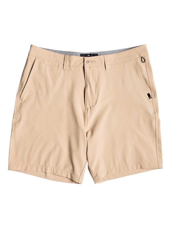 "0 Union Amphibian 19"" - Amphibian Board Shorts for Men Brown EQYWS03591 Quiksilver"