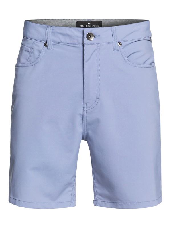 "0 Nelson 18"" - Amphibian Board Shorts for Men Blue EQYWS03592 Quiksilver"