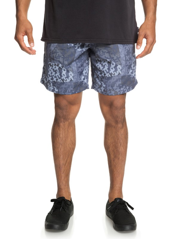 0 Originals Elasticized Shorts Blue EQYWS03596 Quiksilver
