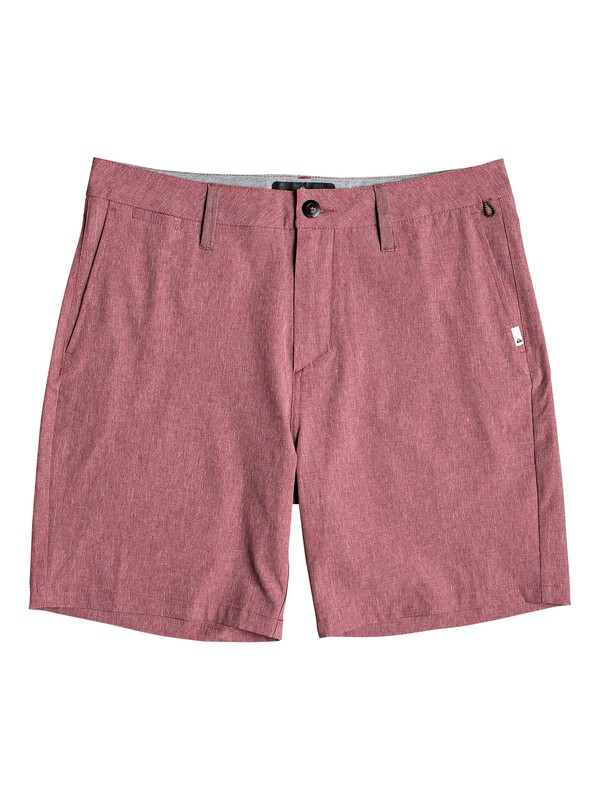 "0 Union Heather 19"" - Amphibian Board Shorts for Men Red EQYWS03605 Quiksilver"