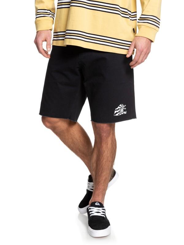 0 STM Shorts Black EQYWS03631 Quiksilver