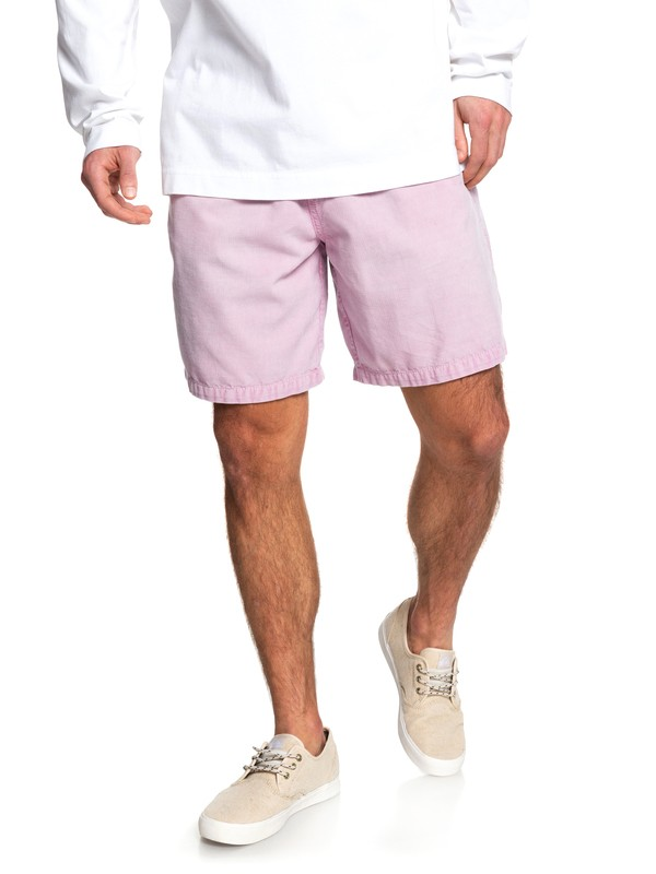 0 Positive Vibrations - Shorts Pink EQYWS03635 Quiksilver