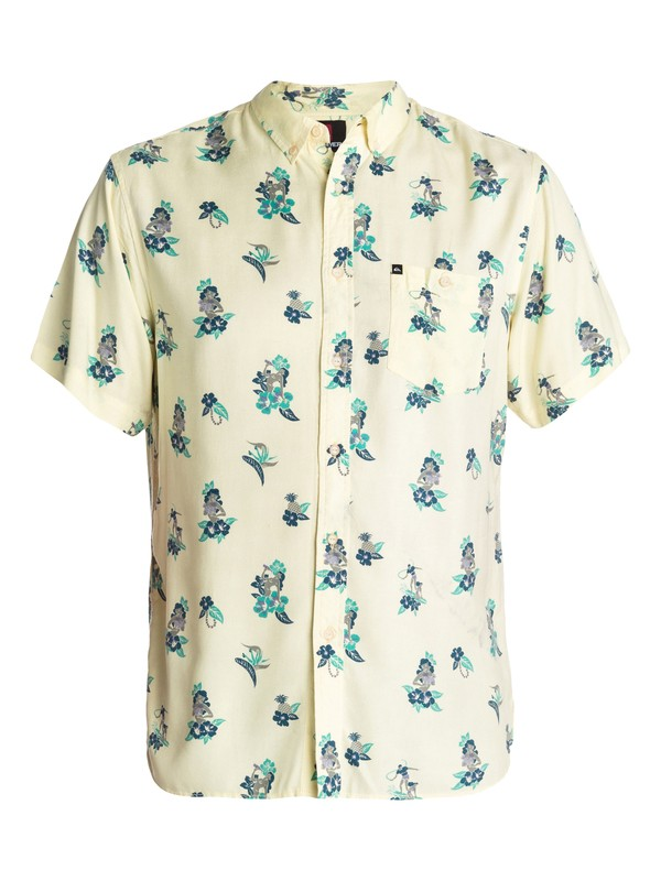 0 Wailea Short Sleeve Shirt  EQYWT00037 Quiksilver
