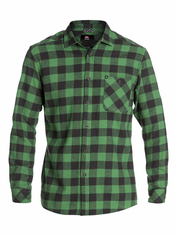 0 Gulls Long Sleeve Flannel Shirt  EQYWT03005 Quiksilver