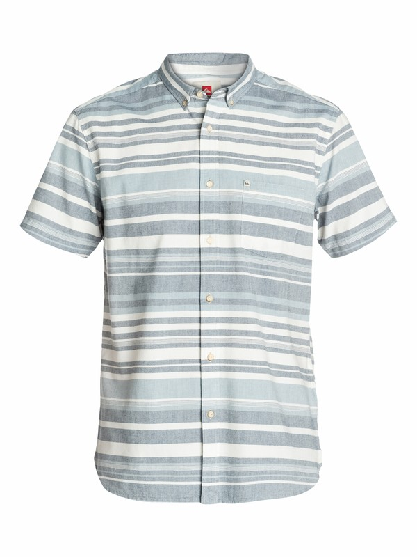 0 Cardinal Slim Fit Short Sleeve Shirt  EQYWT03013 Quiksilver