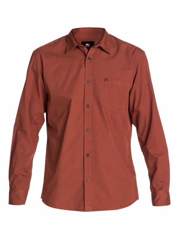 0 Elliot Long Sleeve Shirt  EQYWT03022 Quiksilver