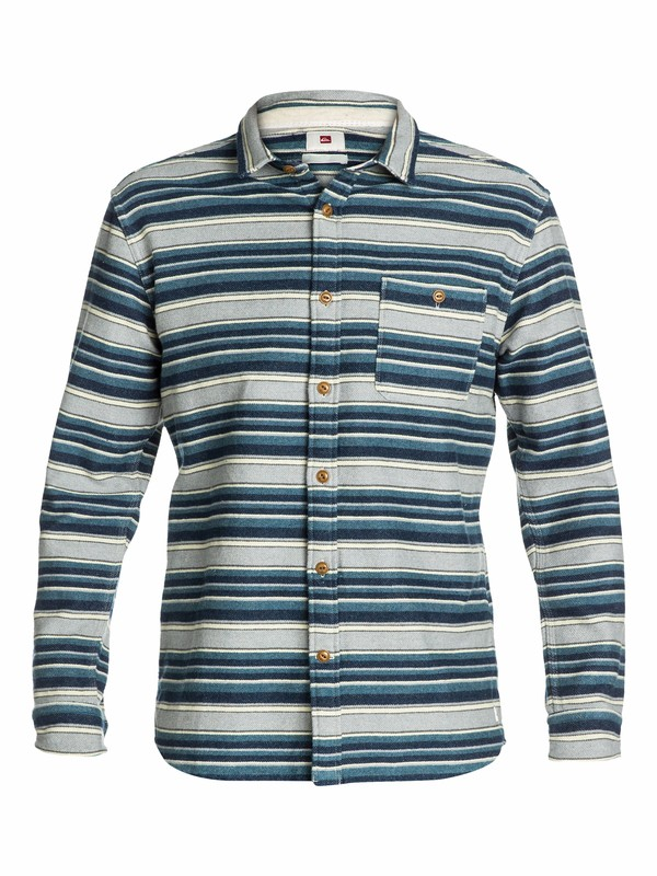 0 Big Bury Long Sleeve Flannel Shirt  EQYWT03035 Quiksilver