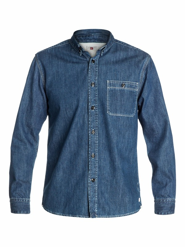 0 The Denim Shirt  EQYWT03037 Quiksilver