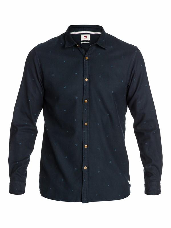 0 Fresh Water Long Sleeve Flannel Shirt  EQYWT03038 Quiksilver