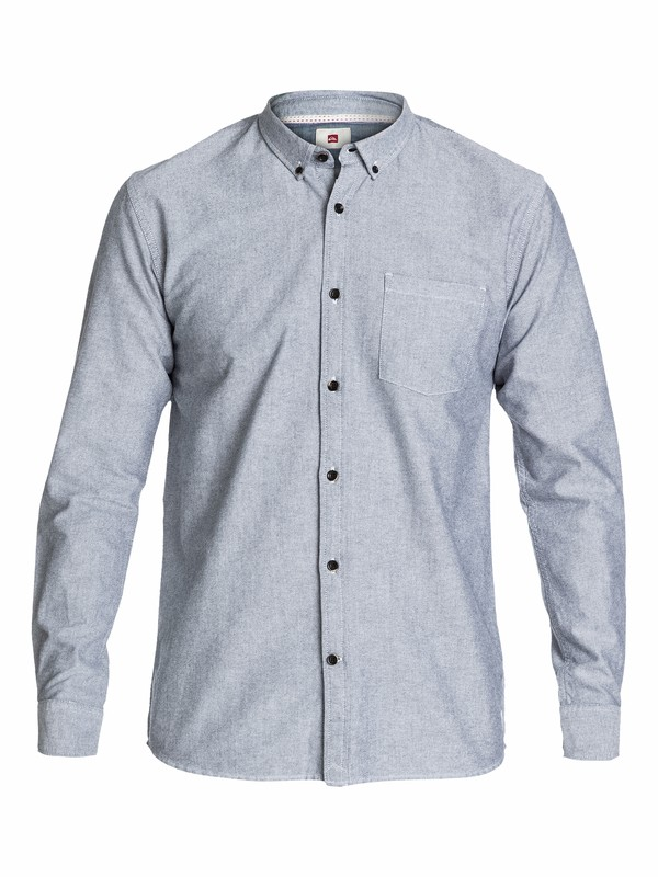 0 The Oxford Long Sleeve Shirt  EQYWT03039 Quiksilver