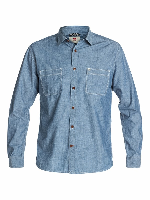 0 Cline Long Sleeve Shirt  EQYWT03048 Quiksilver
