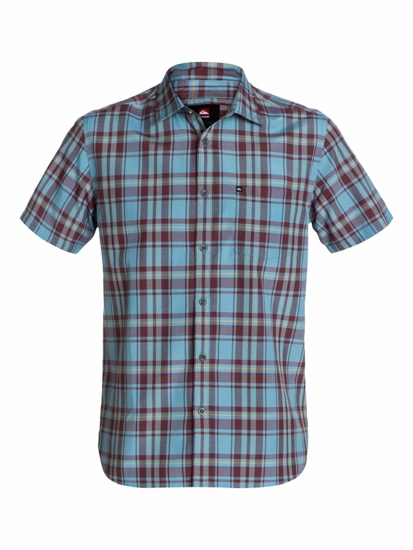 0 Foot Pat Short Sleeve Shirt  EQYWT03071 Quiksilver