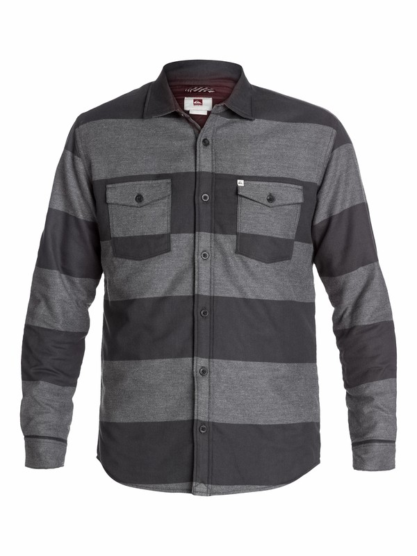 0 Wighter Long Sleeve Flannel Shirt  EQYWT03078 Quiksilver