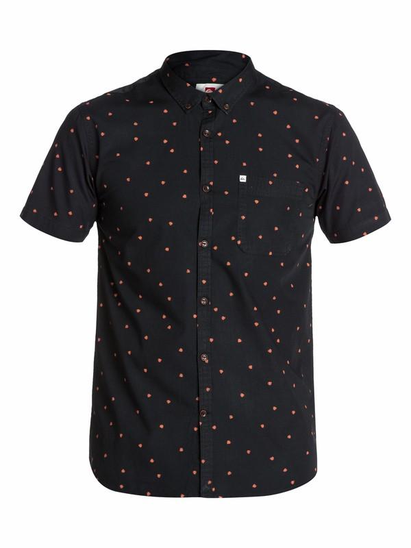 0 War Head Short Sleeve Shirt  EQYWT03081 Quiksilver