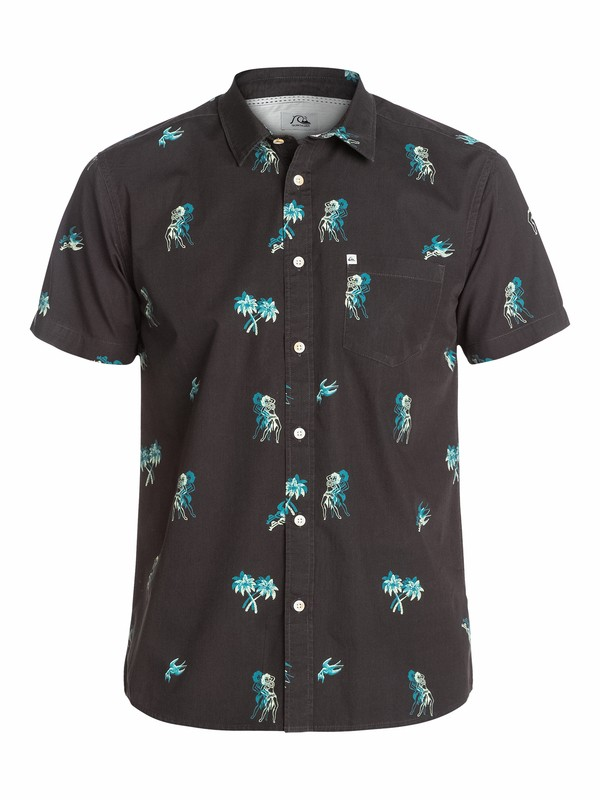 0 Waterhead Short Sleeve Shirt  EQYWT03125 Quiksilver