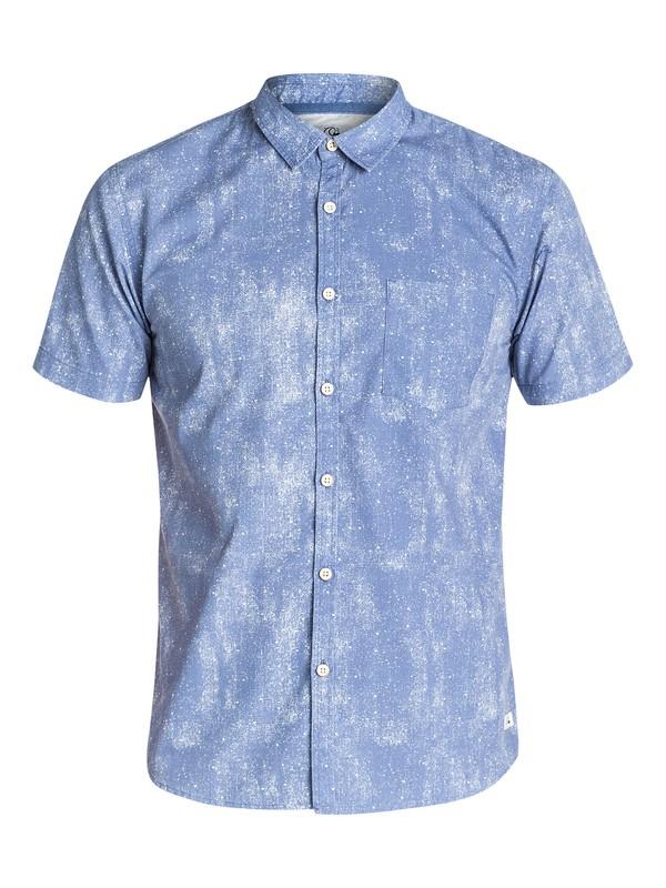 0 Mascaron Short Sleeve Slim Fit Shirt  EQYWT03147 Quiksilver