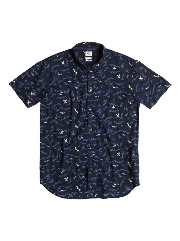0 Camisa Y Corte Ajustado Warsplash  EQYWT03152 Quiksilver