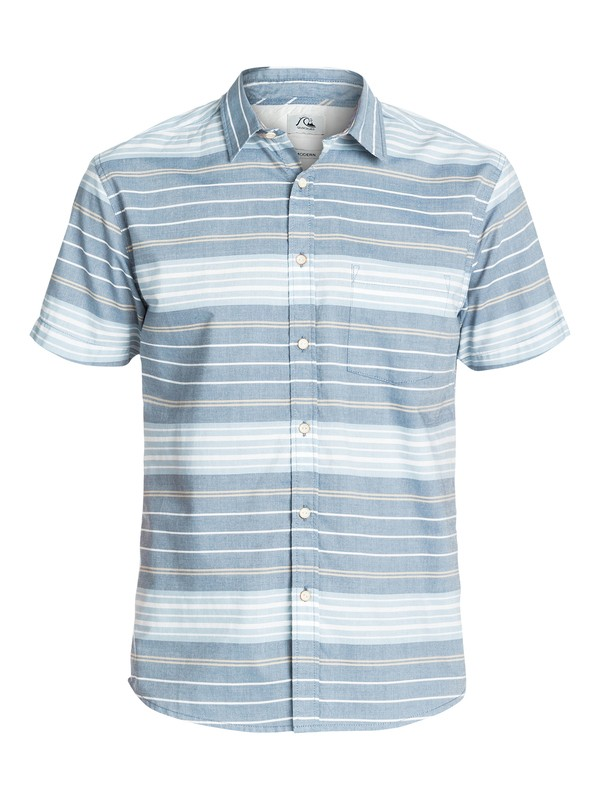 0 Barath Island Short Sleeve Modern Fit Shirt  EQYWT03157 Quiksilver