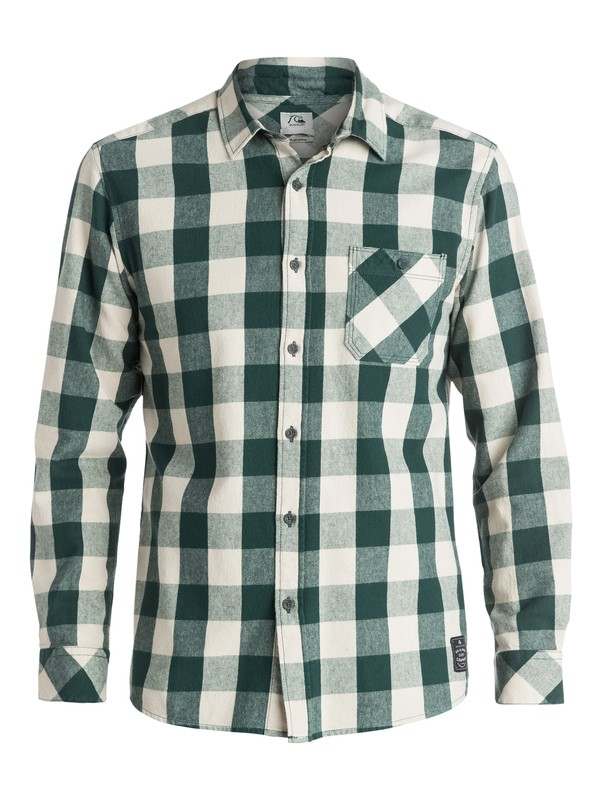 0 Motherfly Flannel - Chemise manches longues  EQYWT03175 Quiksilver