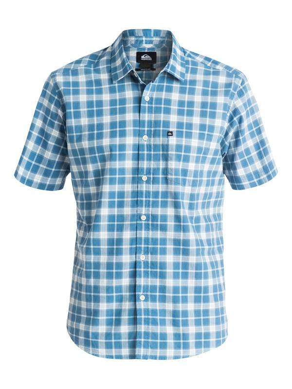 0 Everyday Check Short Sleeve Shirt  EQYWT03177 Quiksilver