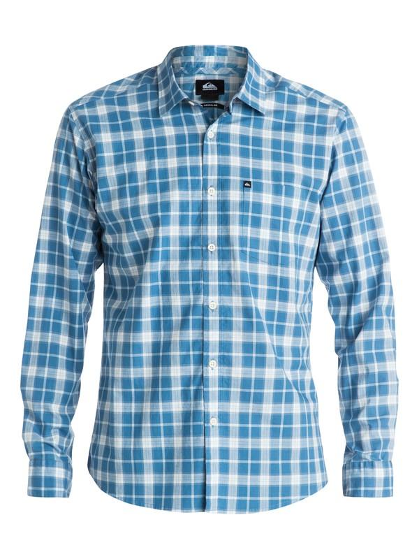 0 Everyday Check Long Sleeve Shirt  EQYWT03183 Quiksilver