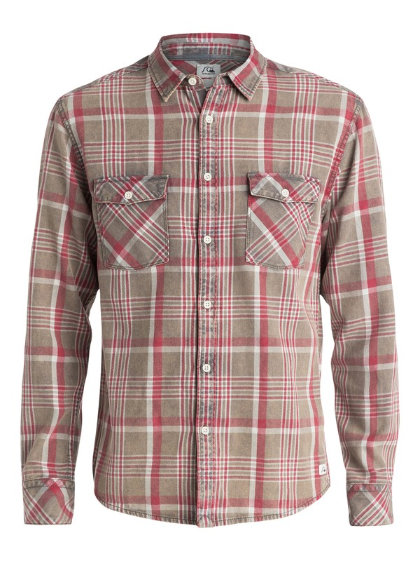0 Tang Titan Long Sleeve Modern Fit Shirt  EQYWT03184 Quiksilver