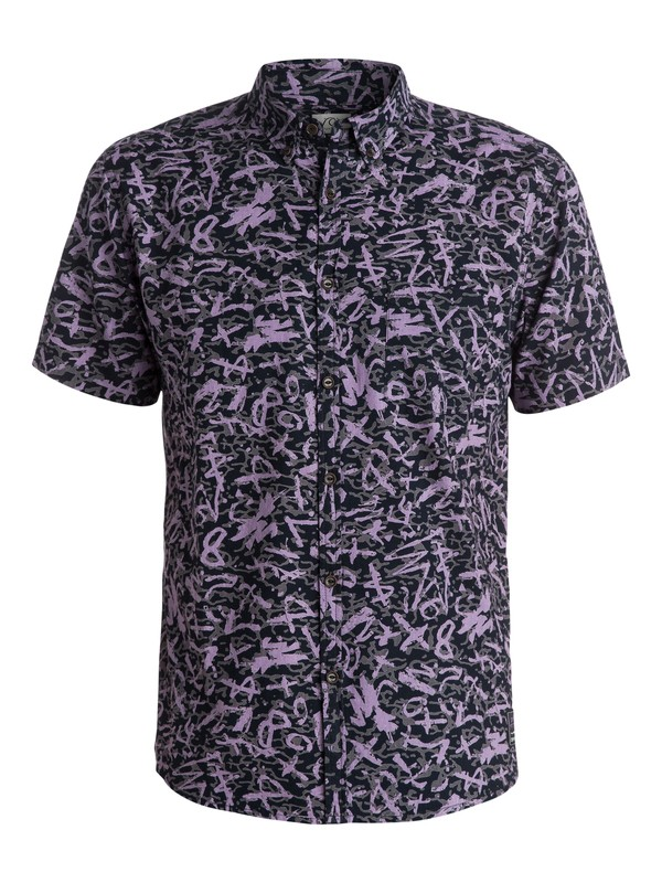 0 Ghetto Boogy Short Sleeve Modern Fit Shirt  EQYWT03192 Quiksilver