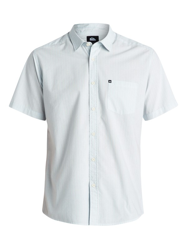 0 Everyday Stripe Short Sleeve Shirt  EQYWT03194 Quiksilver