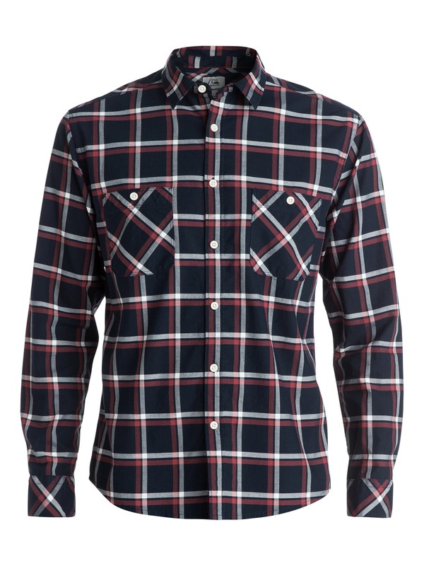 0 Maxford Long Sleeve Modern Fit Shirt  EQYWT03198 Quiksilver