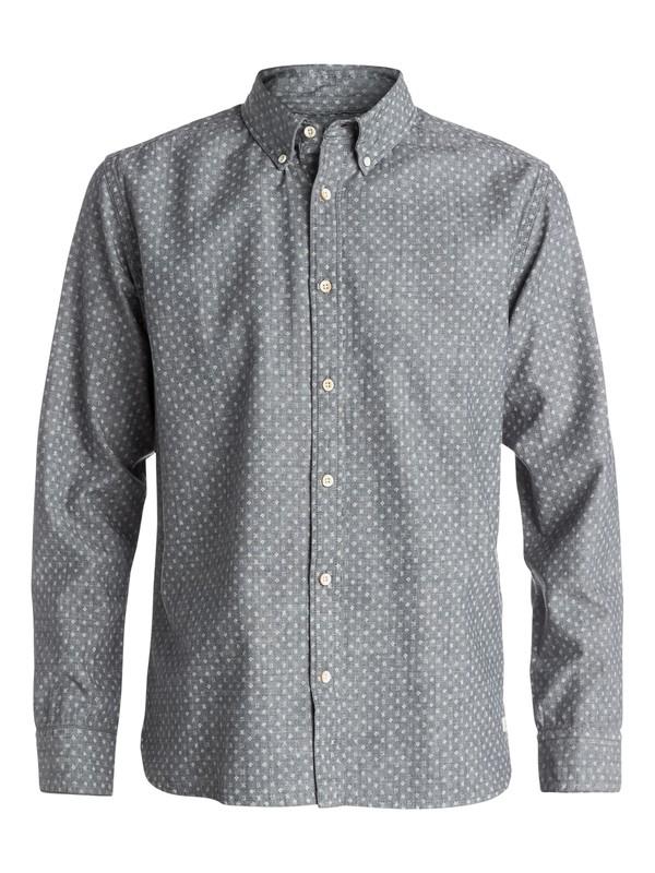 0 Primal Print Long Sleeve Modern Fit Shirt  EQYWT03199 Quiksilver