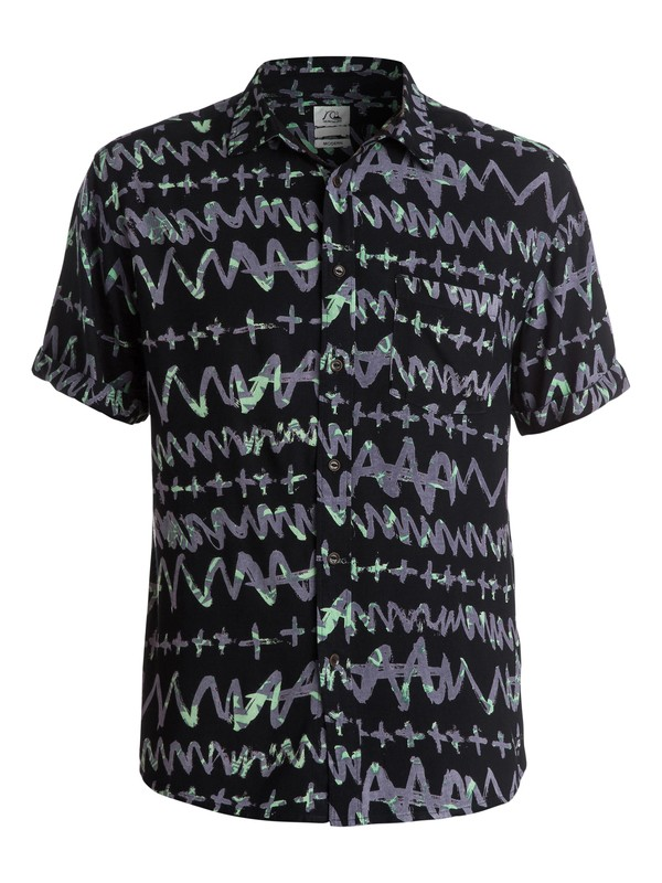 0 Day Rave Short Sleeve Modern Fit Shirt  EQYWT03203 Quiksilver