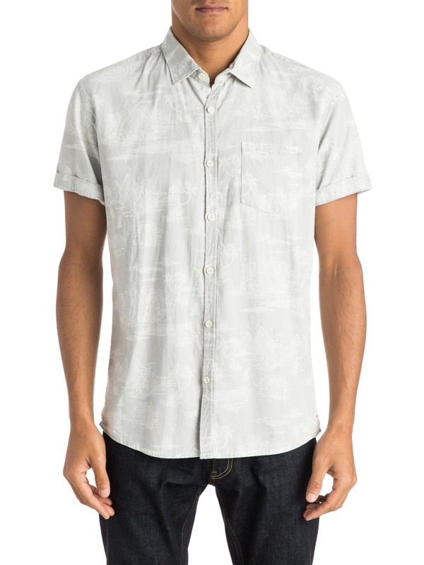 0 Camisa de Pyramid Point  EQYWT03209 Quiksilver