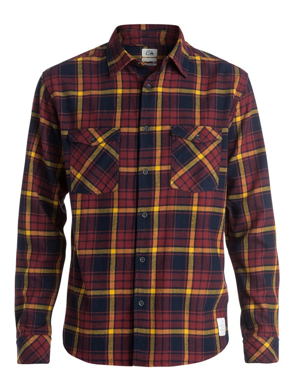 0 Fitzthrower - Chemise manches longues  EQYWT03211 Quiksilver