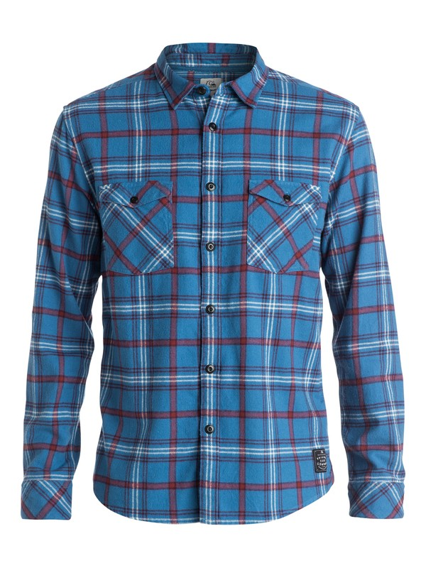 0 Iconscope Flannel - Chemise manches longues  EQYWT03214 Quiksilver