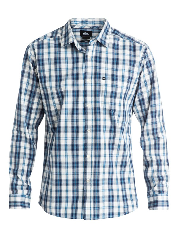 0 Everyday Check Long Sleeve Shirt  EQYWT03230 Quiksilver