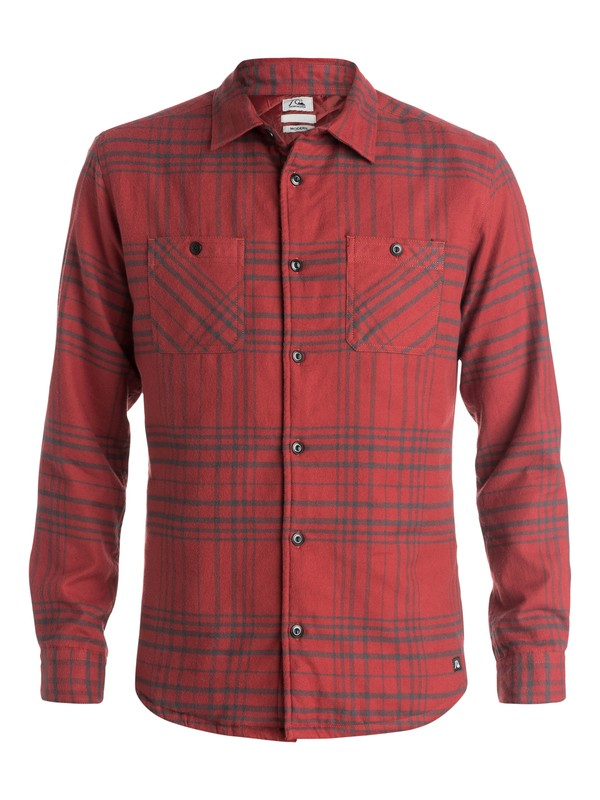 0 Dufflink Long Sleeve Overshirt  EQYWT03239 Quiksilver
