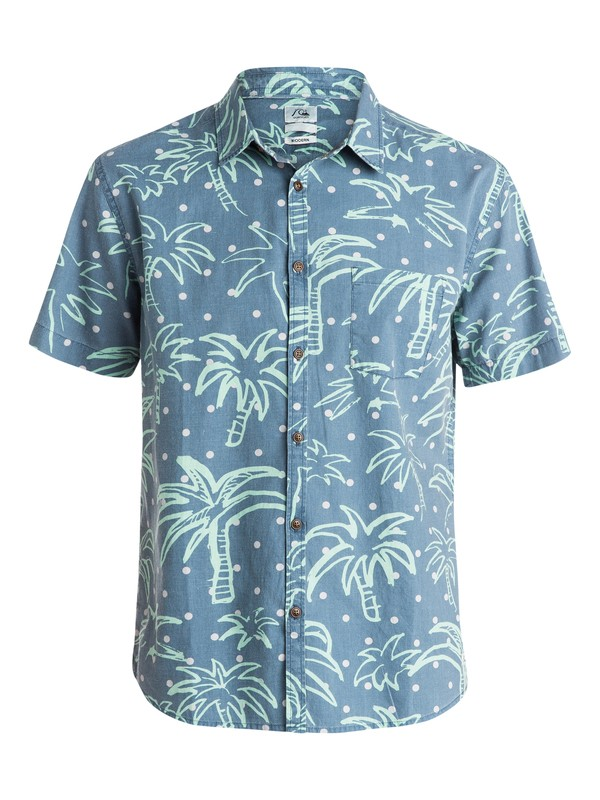 0 Jungle Vision Short Sleeve Shirt  EQYWT03256 Quiksilver