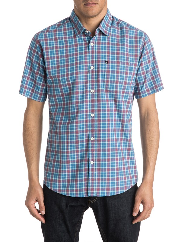 0 Everyday Check - Chemise manches courtes  EQYWT03269 Quiksilver