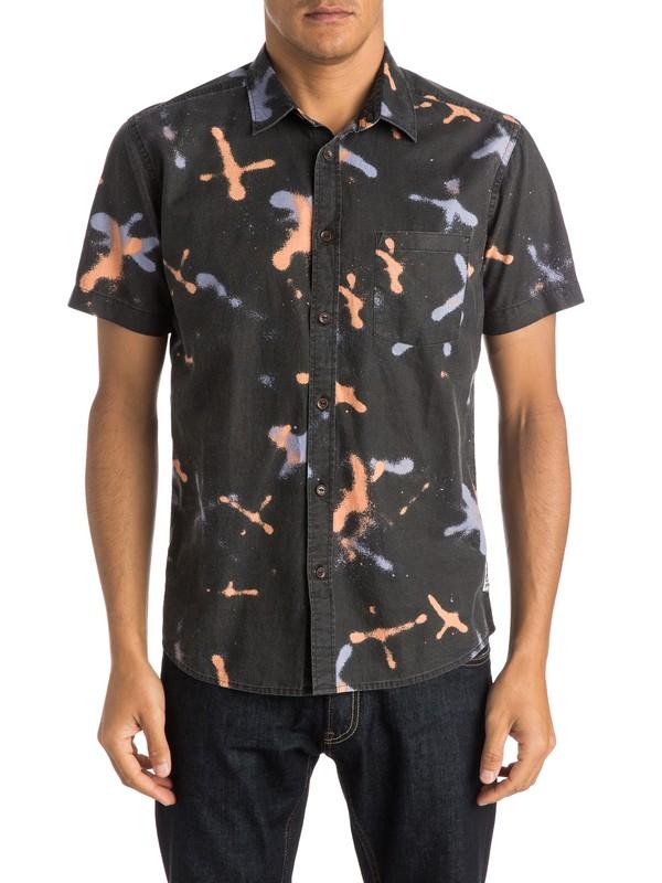 0 Markings Shirt - Chemise manches courtes  EQYWT03274 Quiksilver